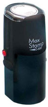 MaxStamp SI-C30/D Round Dater Stamp