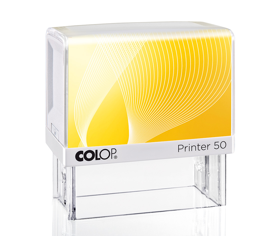 Colop Printer 50 Self Inking Rubber Stamp