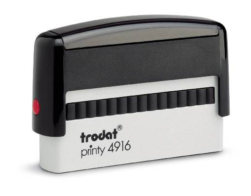 Trodat Printy 4916 Self Inking Rubber Stamp
